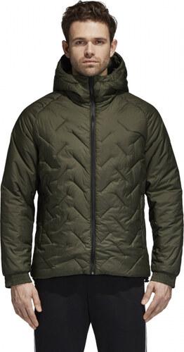 Pánska bunda zimná adidas Performance BTS JACKET (Zelená) - Glami.sk 401d07c46ca