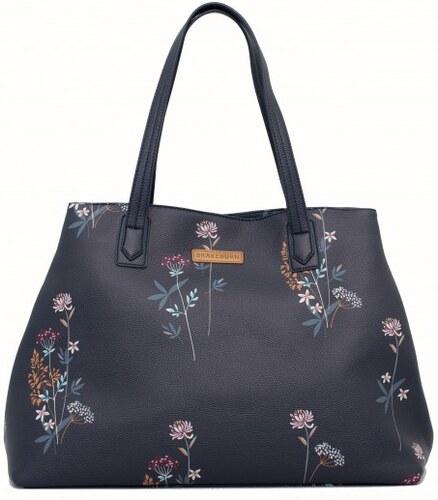 3718fec501 dámská kabelka modrá s květinami BRAKEBURN - Glami.cz