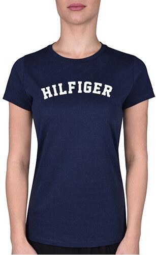 cc563e5eeb Tommy Hilfiger Dámske tričko s krátkym rukávom Cotton Icon ic Logo SS Tee  Print UW0UW00091 -