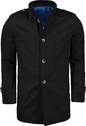 Kabát pánský Ombre C269 BLACK - Glami.cz 7285b53514