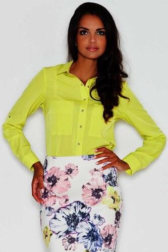 98d75105d1d5 Figl 384 elegantná dámska košeľa s dlhým rukávom - Glami.sk