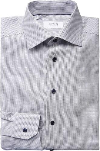 09a99e823bb Košile ETON Slim Fit Weave Shirt - Glami.cz