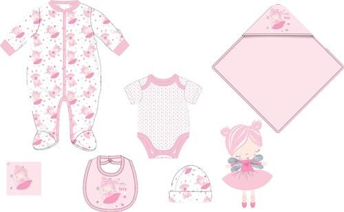 b397ca34ec37 Cangurino Dievčenská dojčenská súprava- ružový - Glami.sk