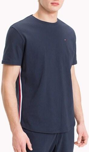 Tommy Hilfiger tmavo modré tričko CN TEE SS s lemom - Glami.sk ceee7700e7