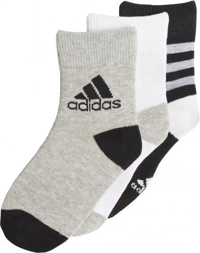 abef3e2087b Ponožky adidas Performance LK ANKLE S 3PP (Čierna   Biela   Šedá ...