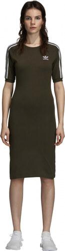 Dámske šaty adidas Originals 3 STRIPES DRESS (Zelená) - Glami.sk 05d8f8e862