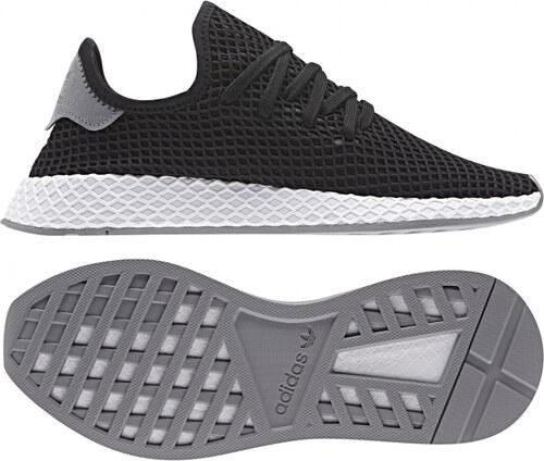 Pánské tenisky adidas Originals DEERUPT RUNNER (Černá   Oranžová ... 9a24bc53fd