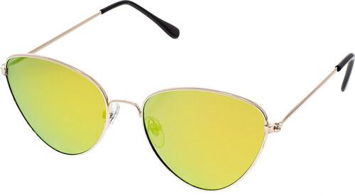 Level One Pilót napszemüveg Favour arany színű keret színes lencsék ... 3d00e6a257