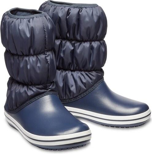 Crocs modré sněhule Winter Puff Boot Navy - W6 - Glami.cz 7c4fc2a3d0