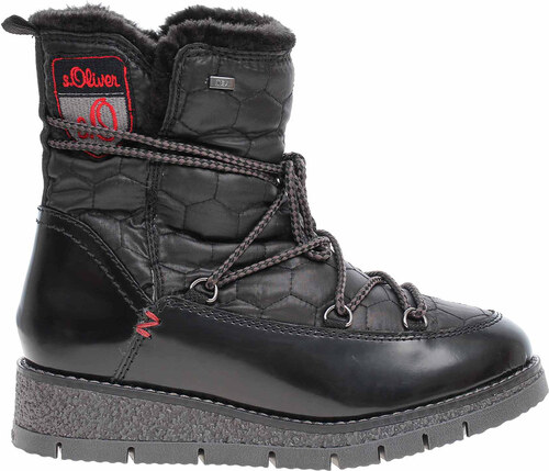 960c381d6e s.Oliver dámská obuv 5-26477-31 black comb 5-5-26477-31 098 - Glami.sk