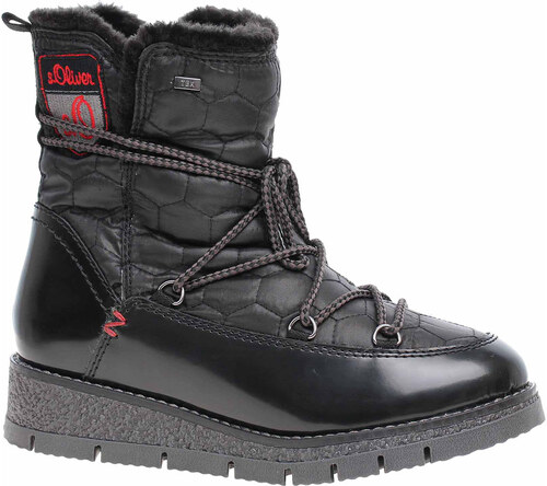 c13204aa76 Dámská obuv s.Oliver 5-26477-31 black comb 5-5-26477-31 098 - Glami.sk