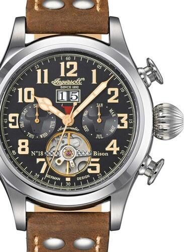 bd897784f Pánské hodinky Ingersoll IN4506BKCR Bison No.18 - Glami.cz