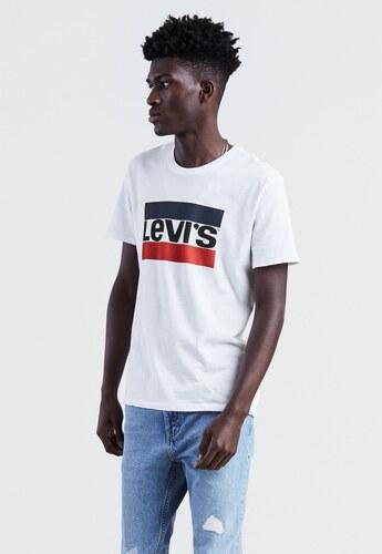 51411c1922 Pánske biele tričko s krátkym rukávom Levi´s Sportswear Logo Graphic ...