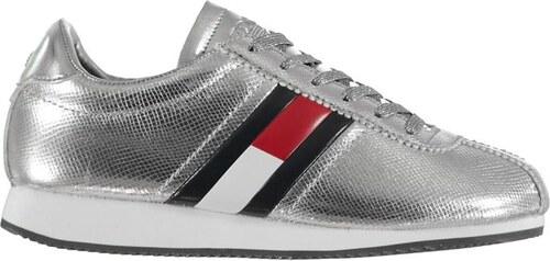Dámské boty Tommy Hilfiger Retro Low Silver - Glami.cz 496ebe0033