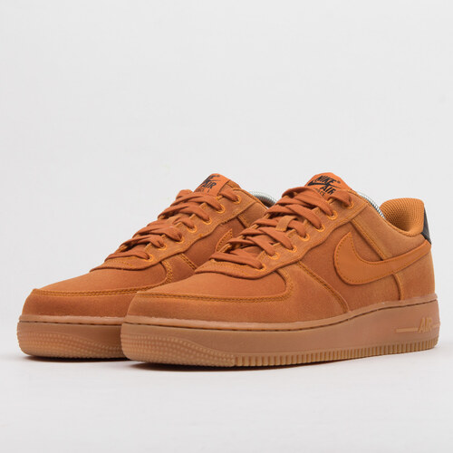 Nike Air Force 1  07 LV8 Style monarch   monarch - gum med brown ... 6dc97cf8f2d