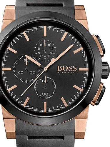 2a4b9913a Pánské hodinky Hugo Boss Black Neo Chrono 1513030 - Glami.cz