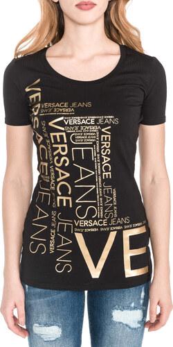 Női Versace Jeans Póló Fekete Arany - Glami.hu 8b0e251faf