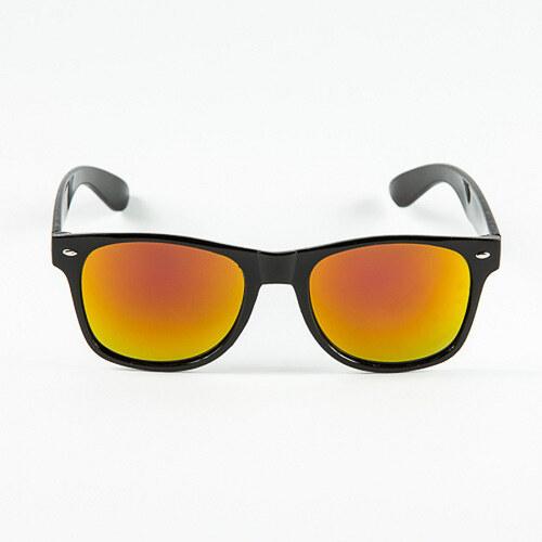 022b6a4fb Sunmania Wayfarer zrkadlové okuliare 034 oranžové - Glami.sk