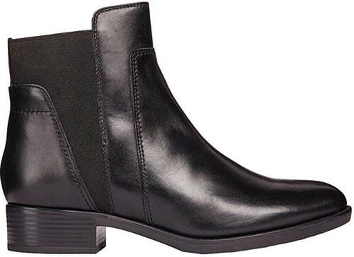 f10ac0f9ea0 -61% GEOX Dámské kotníkové boty Felicity F Black D84G1F-00043-C9999