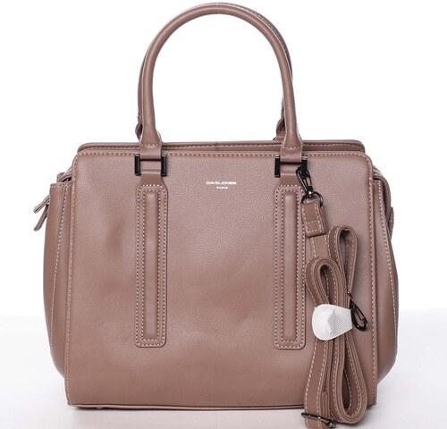 bca74db3a1 -27% Elegantná štýlová dámska staroružová kabelka - David Jones Amedee  ružová