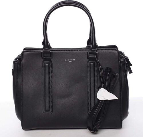 46d34e37a Elegantná štýlová dámska čierna kabelka - David Jones Amedee čierna ...