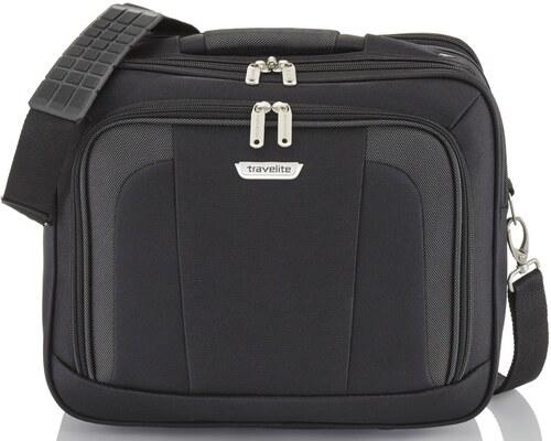 Travelite ORLANDO fekete kézipoggyász méretű kabintáska fedélzeti táska cdcab20d27