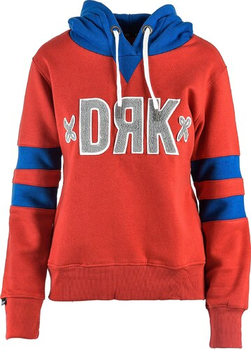 Dámska červená mikina s kapucňou Dorko CHENILLE LOGO - Glami.sk 9e55f66b7df