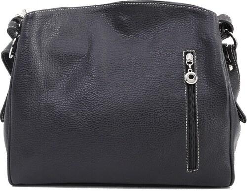 Talianske kožené kabelky športové crossbody čierne Astrid c1bb6ed0c18