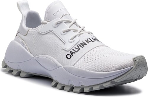9ebcb58e6c Sportcipő CALVIN KLEIN JEANS - Timmy S0588 Bright White - Glami.hu