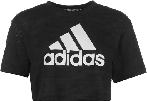 Nové adidas Aeroknit Cropped tričko dámské 15d64c7bf39