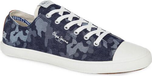 Pepe Jeans pánské džínové tenisky s maskáčovým vzorem - Glami.sk d60e9c6452