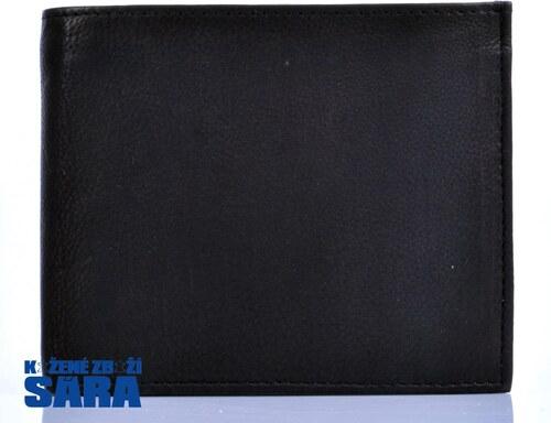ff7be122ad4 Pánská kožená peněženka - zipová kapsa na bankovky TK-010