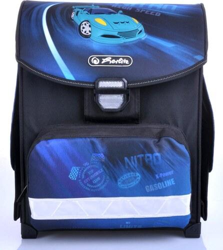 Školní batoh Herlitz 11408150 smart modré auto 7b5bec9c18