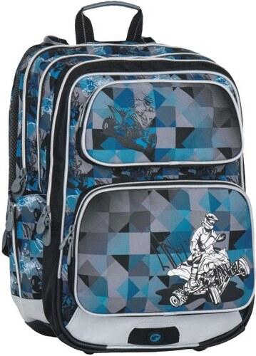 7904d7fe3 Školní batoh GALAXY 7 F blue/black/grey - Doprava zdarma, Bagmaster ...