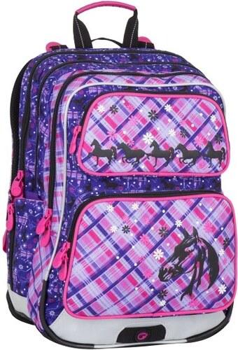 69b2b2cab2 Školní batoh GALAXY 7 B violet pink - Doprava zdarma