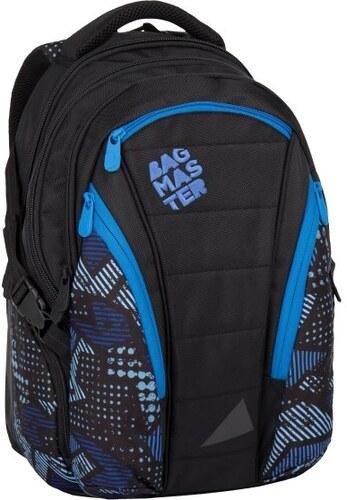 ed0a7498bcc Studentský batoh BAG 7 E black blue