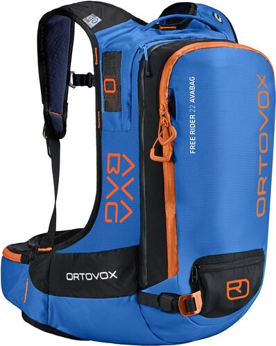 b64b5c10d1 ORTOVOX - ruksak Free Rider 22L Avabag safety blue 26L Velikost  UNI ...
