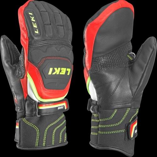 Leki Worldcup Race Flex S Junior Mitt black - red - 63480051 - Glami.cz 3dc8ab21281