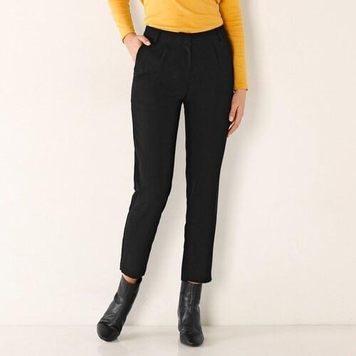 cba76f08cb9d Blancheporte 7 8 jednofarebné nohavice čierna - Glami.sk