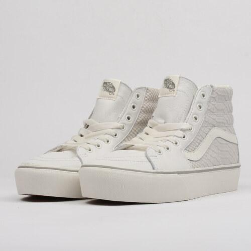 Vans SK8 - Hi Platform 2 (leather) snake   white - Glami.cz 233cc0e1e27