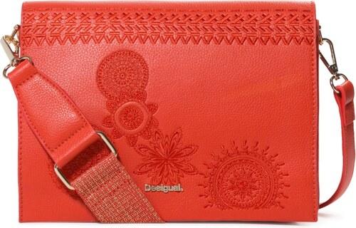 Desigual tehlovo červená kabelka Dark Amber Imperia - Glami.sk 1516b89b8e7