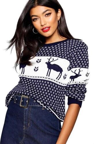 8733f065aae2 BOOHOO Vianočné sveter so sobmi - Glami.sk
