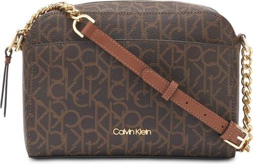 Calvin Klein kabelka Hayden crossbody brown - Glami.cz 2d377fb547b