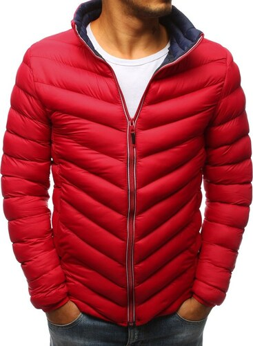 BASIC Červená zimná bunda (tx2376) - Glami.sk e2c3d936b77