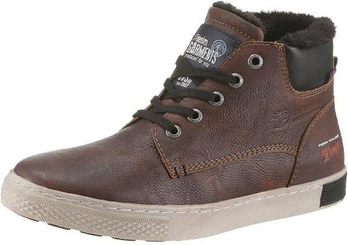 a7a0ed921d4fe Tom Tailor Šnurovacie topánky hnedá - Glami.sk