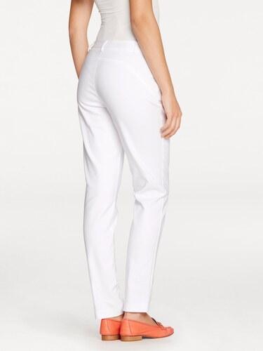 eb3eccec7190 heine Elastické nohavice vlnená biela - Glami.sk