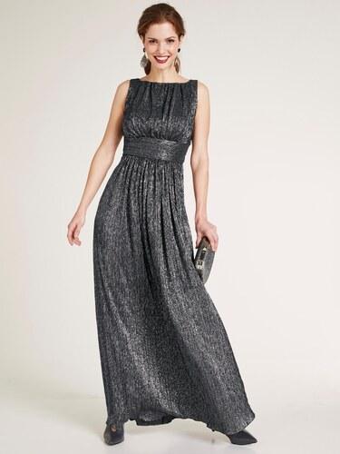 heine TIMELESS Večerné šaty lesklé strieborná-metalizovaná - Glami.sk d0a65b8842a