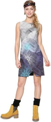 šaty Desigual Ohio navy - Glami.cz 2d413fb0378