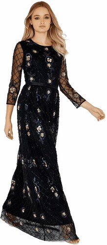 LITTLE MISTRESS Zdobené luxusné maxi šaty Stela - Glami.sk 53809b0c135