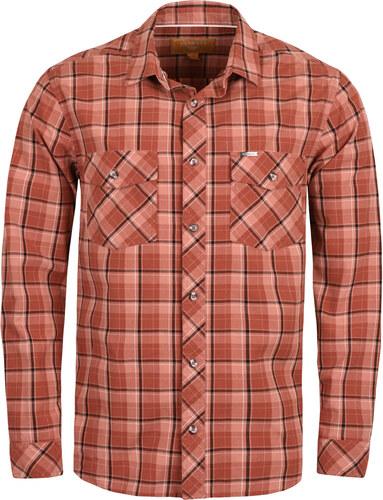 Pánská košile BUSHMAN OSBORNE oranžová - Glami.cz 4fd659c3c1